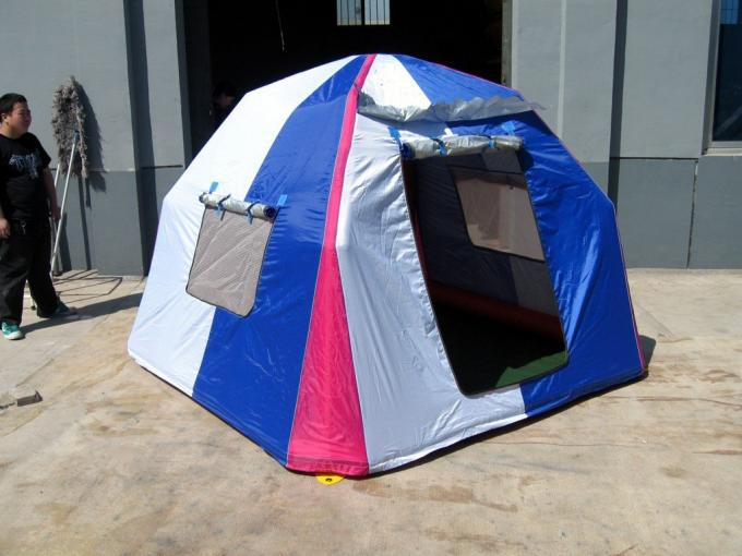 Fashion and Modern Inflatable Camping Tent With Metal Frame