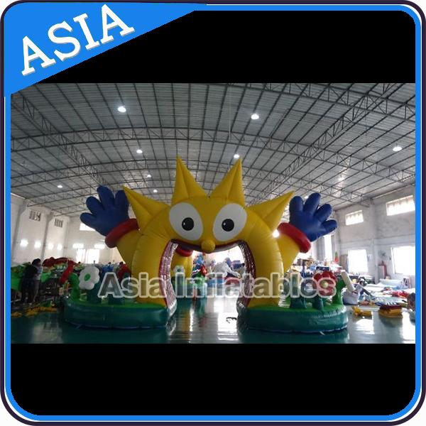 Customized Inflatable Tree Arch For Event , Outdoor Decoration Inflatable Arch