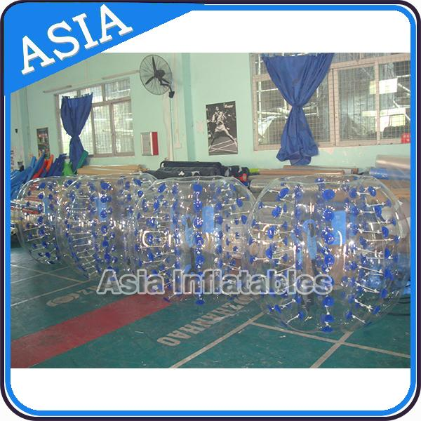 Commercial Funny Inflatable Body Zorbing Bumper 1.2m For Children Sport