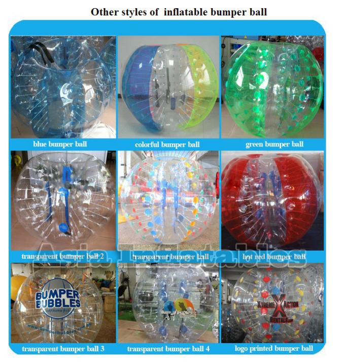 High Quality Tpu Body Zorb Ball / Body Zorbing For Sports Games