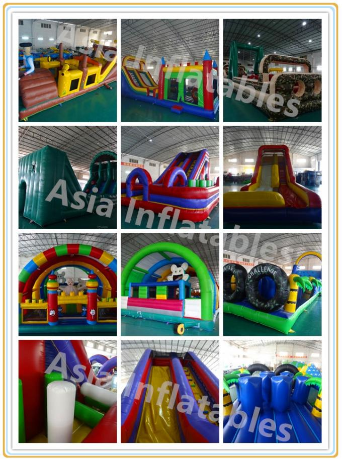 Vertical - Rush Inflatable Obstacle Course For Children And Adults