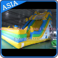 Cina PVC Tarpaulin Commercial Inflatable Bouncer Inflatable Minions Bouncy Castle pabrik