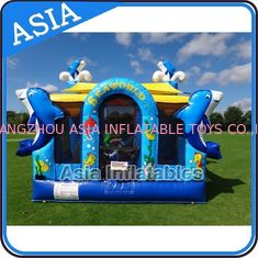 Cina Sea World Bouncy House Inflatable Bouncer Children Amusement Sports pabrik