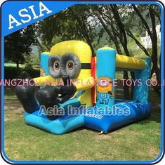 Cina Backyard Inflatable Minion Bouncer Combo For Party Hire Inflatable Sports pabrik