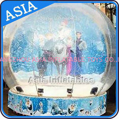 Olaf Inflatable Snow Globe Advertising Inflatable Bubble Tent With Frozen Cartoon