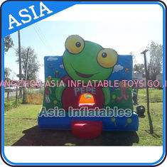 Cina Inflatable Bouncer Sapo Pepe Bouncy Castle For Party Hire Outdoor Games pabrik