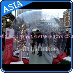 Cina Durable Human Inflatable Snow Globe / Inflatable Tent For Chirstmas pabrik