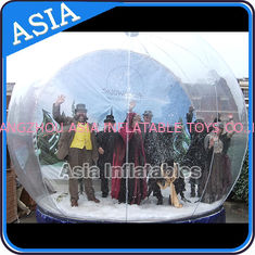 Cina Airblown Yard Inflatable Bubble Tent Decoration , Inflatable Christmas Snow Globe pabrik