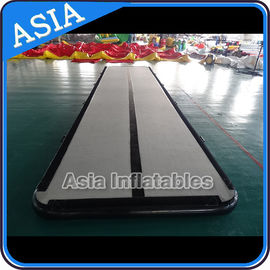 Cina Jumping Inflatable Tumble Air Track Used Outdoor For Training pabrik