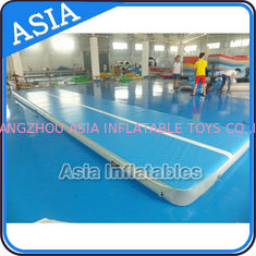 Cina 10ml Light Blue Inflatable Air Gymnastics Mats For P pabrik