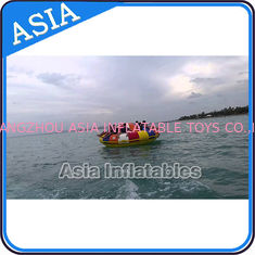 Cina Fireproof 3m Inflatable Disco Boat With 8 Seats Pvc Inflatable Water Games pabrik