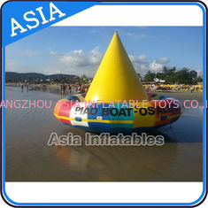 Cina UL Approval 4m Floating Spin Inflatable Boats / Water Discoboat For Water Game pabrik