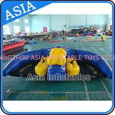 0.9mm PVC Tarpaulin Inflatable Flying Manta Ray / Fly Fish Inflatable Water Parks