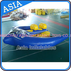 Cina Durable Water Ski Tube Inflatable Boats Inflatable Water Toys 3 Years Warranty pabrik