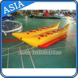 Cina Water Games Inflatable Boats Double Tubes Flying Fish Inflatable Banana Boat pabrik