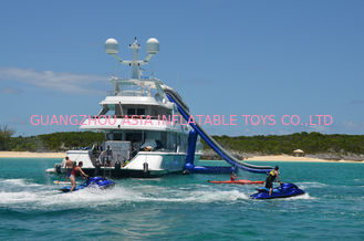 Cina Giant Inflatable Water Sports,Inflatable Yacht Sliding Sports Games pabrik