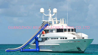 Cina Ocean Floating Spots Games, Inflatable Water Slides For Yacht pabrik