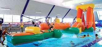 Cina Inflatable Aqua Challenging Sports, Inflatable Water Floating Obstacles pabrik