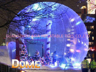 Beautiful Christmas Inflatable Snow Globe For Party Decoration