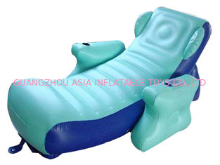 Cina Eco-friendly PVC Inflatable Water Sofa Bed , Advertising Inflatable Floating Sofa pabrik