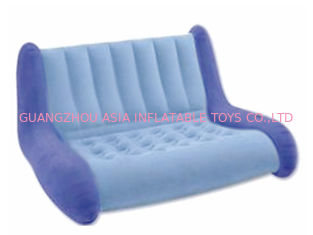 Cina water proof and fireproof Advertising Inflatable Sofa couch with two seas pabrik