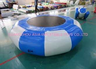 Cina Inflatable Bounce Platform , Inflatable Water Trampoline Sports pabrik
