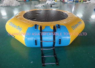 Cina Commercial Water Games Inflatable Crocodile Water Trampoline With 0.9mm Pvc Tarpaulin pabrik