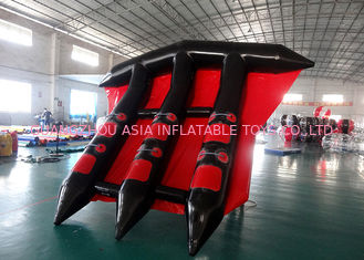 Customized Logo Towable Inflatables / Inflatable Flying Fish For Sea