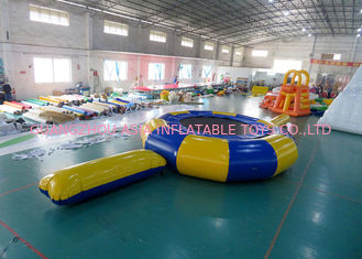 Cina Rave Aqua Jump Eclipse Water Parks , Inflatable Water Games Chinese Supplier pabrik