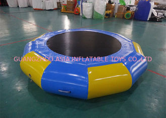 Cina Aquaglide Supertramp Water Trampoline Park , Inflatable Water Games pabrik