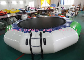Cina Hoe Sale Jump Water Trampoline ,  Inflatable Water Games For Water Park pabrik