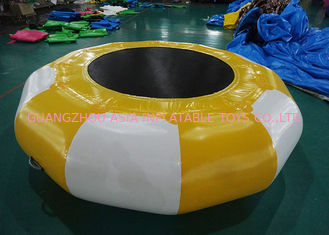Cina Hot Sale Platinum Supertramp Water Trampoline ,  Inflatable Water Games pabrik