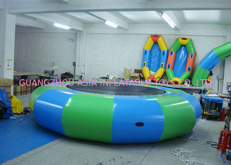 Cina Commercial Air Tight Inflatable Water Trampoline For Water Sport Games pabrik