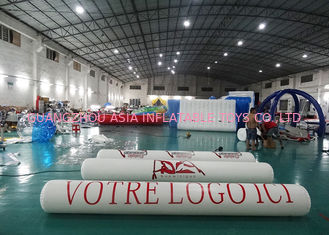 Cina Inflatable Promoting Strip Buoy For Ocean Or Lake Advertising , Inflatable tube buoys pabrik