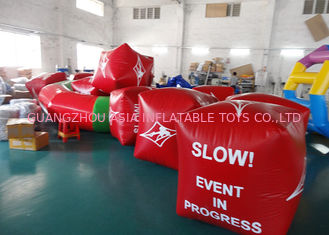 Cina Water Triathlons Advertising Inflatable Promoting Buoy For Ocean Or Lake pabrik