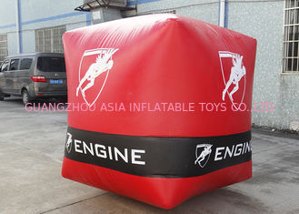Cina Funny Inflatable buoy For Promotion , Inflatable Paintball Bunker On Sale pabrik