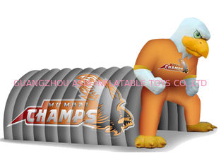 Cina Fantasy Inflatable Entrance Tunnel With Eagle Mascot For Sports Event pabrik