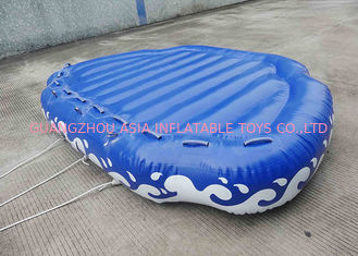 Cina 4 Passangers Inflatable Water Ski Tubes Towable Water Surfboard Platform For Beach pabrik