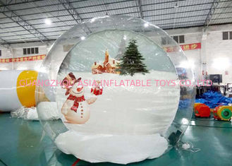 Cina Customize TPU Inflatable Bubble House for Show pabrik