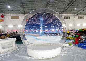 Cina Take Photos Inflatable Snow Globes for sale pabrik