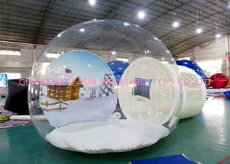 Cina Inflatable Snow Globe for Sale with Background pabrik