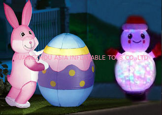 Cina Low Price Custom Inflatable Animals With Led Lighting For Decoration pabrik