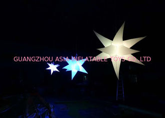 Cina LED Light Inflatable Hanging Decoration, Wonderful Lighting Star for Party pabrik