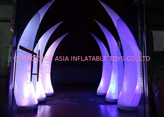 Cina Party Stage Decoration Inflatable Cone with LED Lighting pabrik