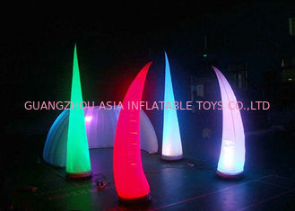 Cina LED Light Inflatable Standing Cone,Lighting Decoration Inflatables pabrik
