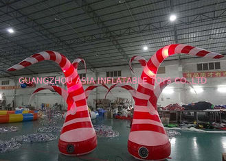 Cina Beauty Inflatable Tentacle With Led Lighting For Party / Stage / Room Decoration pabrik