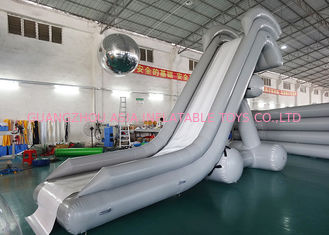 Cina 0.90mm PVC Water Slide, Inflatable Water Sports For Water Park pabrik