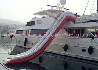 Cina Giant Inflatable Water Slide , Inflatable Water Amusement Equipment, Yacht Slide pabrik