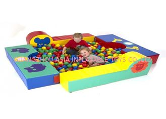 Cina Eco - Friendly Inflatable Sports Games, Anak Sponge Foam Climbing Toys pabrik