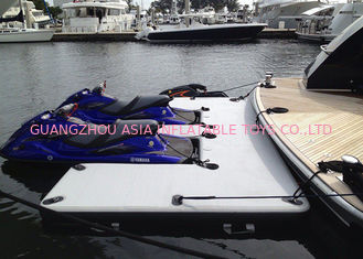 Jatuhkan Stitch Float Platform Inflatable Yacht Slides Watercraft Dock Ukuran Disesuaikan